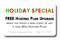 Holiday Referral Special